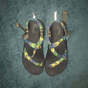 Girls size 5 Chacos